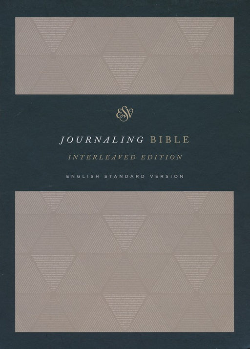 ESV Journaling Bible, Interleaved Edition Tan