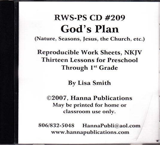 God's Plan CD