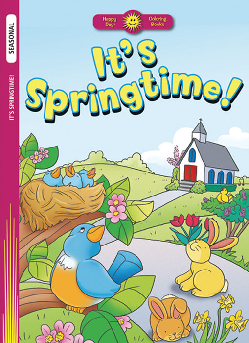 It's Springtime Coloring Book