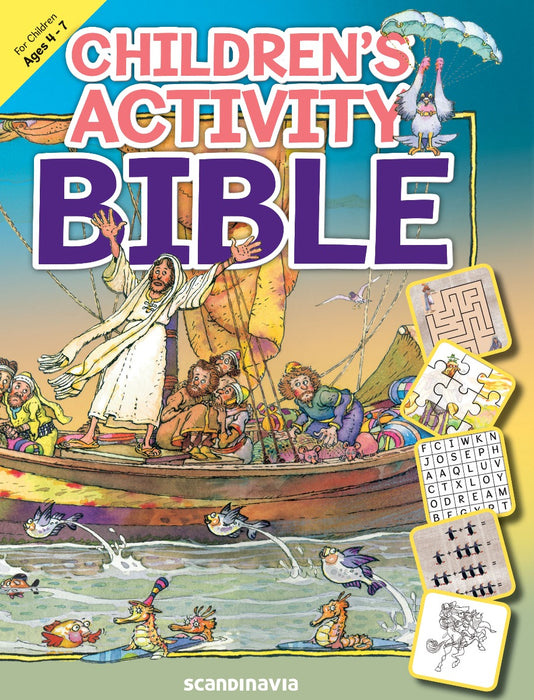 Children's Activity Bible Ages 4-7