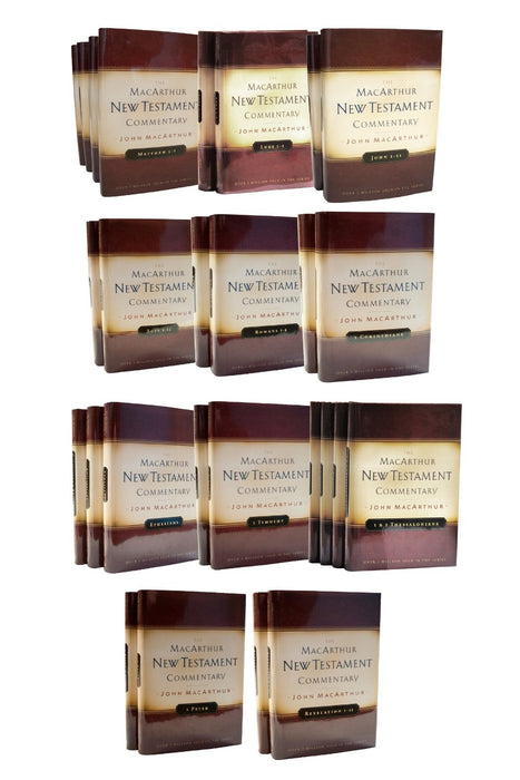 MacArthur New Testament Commentary Set