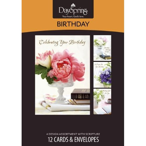 Boxed Cards - Lustrous - Birthday