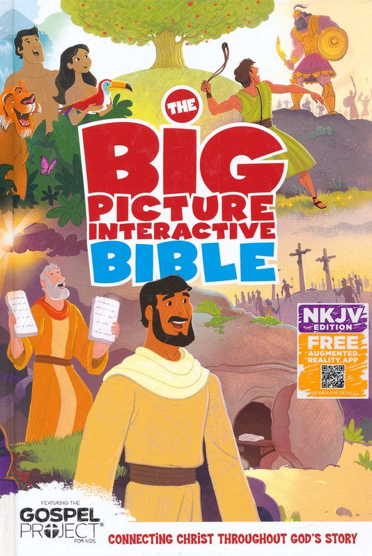 Big Picture Interactive Bible NKJV, Hardback