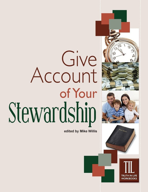 Give Account of Your Stewardship