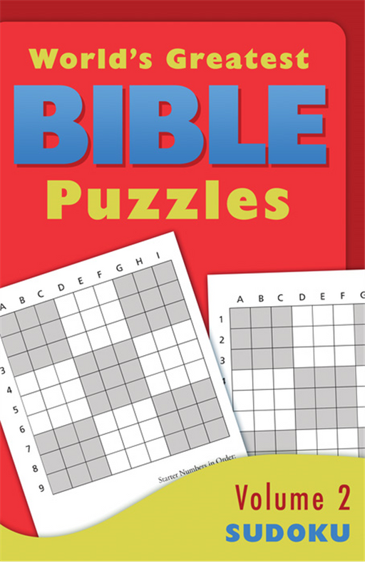 World's Greatest Bible Puzzles, Volume 2 - Sudoku
