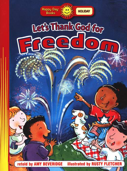 Let's Thank God for Freedom Happy Day Book