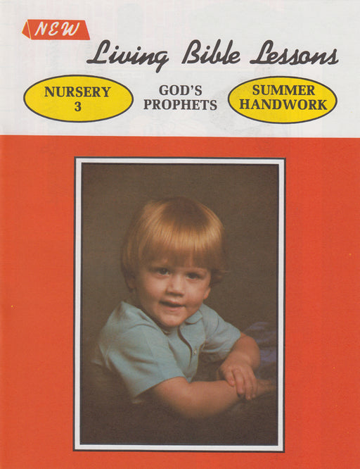 NURSERY 3-4 ST - God's Prophets