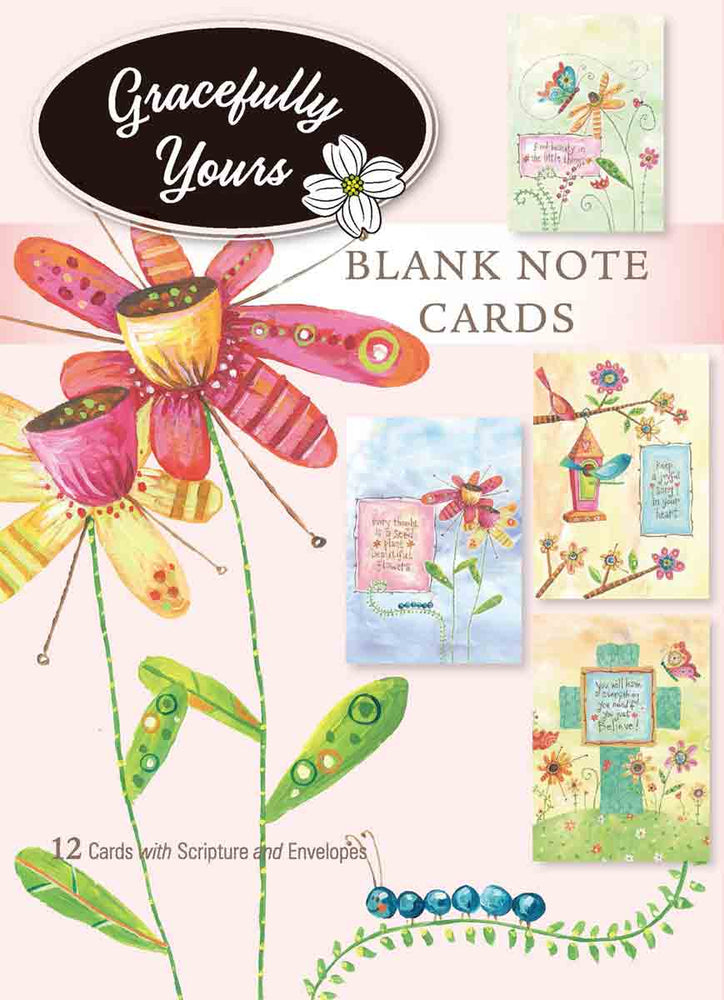 Boxed Cards - Whimsical Blessings Blank Note Cards