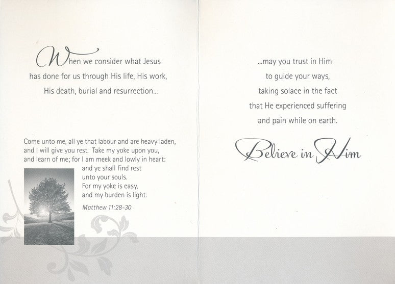 Boxed Cards - Encouragement - God's Comfort