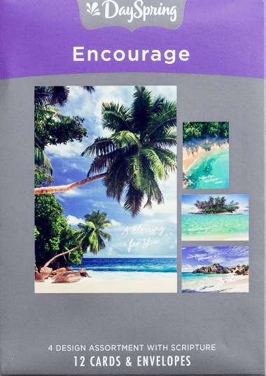 Boxed Cards - Beaches - Encouragement
