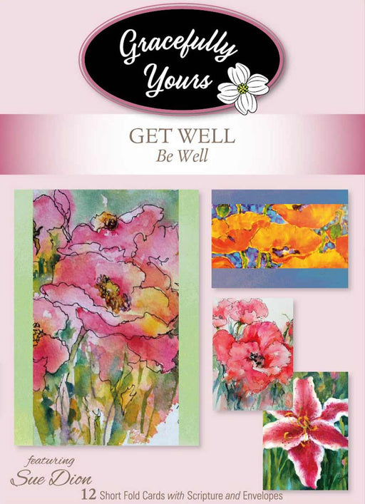 Boxed Cards -Be Well - Get Well