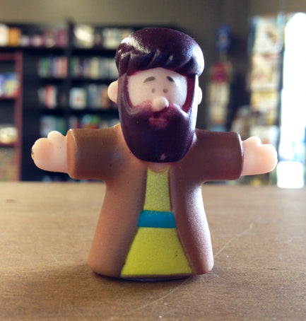Finger Puppet - Man (Brown)