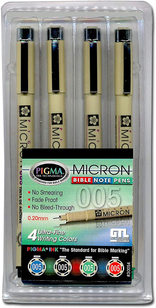 Micron Bible Note Pen Kit (Ultra Fine)