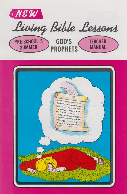 PRESCHOOL 5-4 MAN - God's Prophets