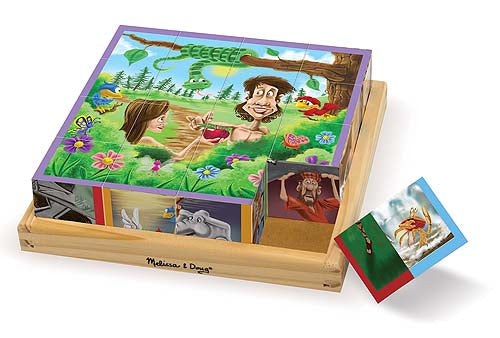 Wooden Cube Puzzle Old Testament