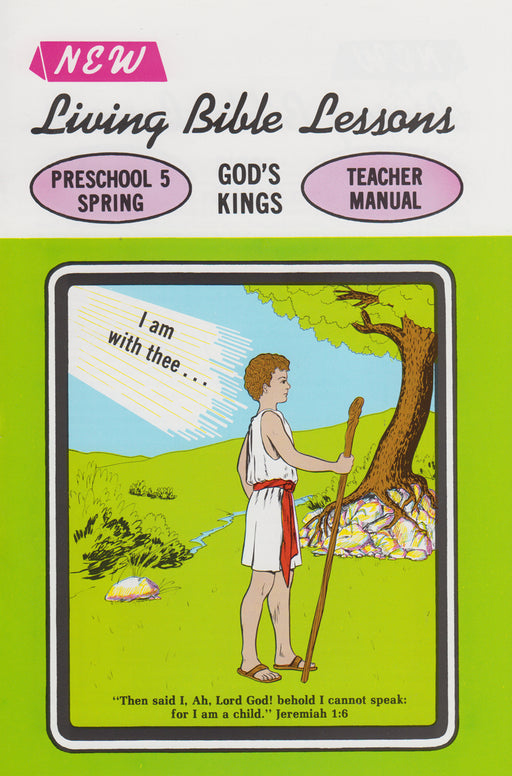 PRESCHOOL 5-3 MAN - God's Kings