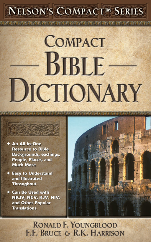 Nelson's Compact Bible Dictionary - pb