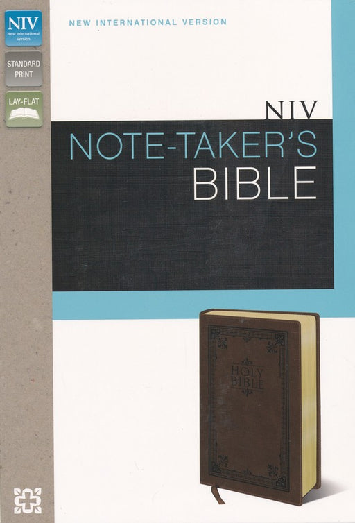 NIV Note-Taker's Bible Brown Duo-Tone