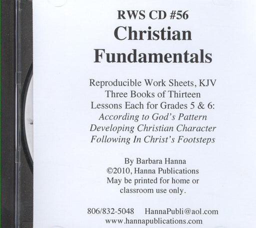Christian Fundamentals (grades 5&6) CD