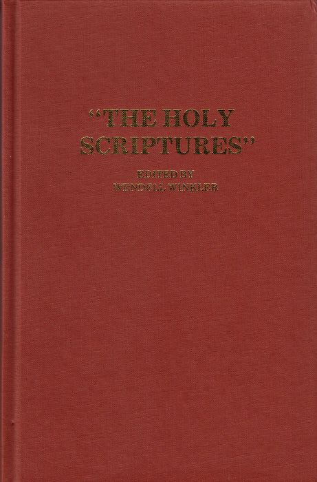 The Holy Scriptures