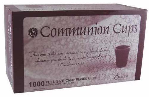 Communion Cups by Swanson 1 3/8""
