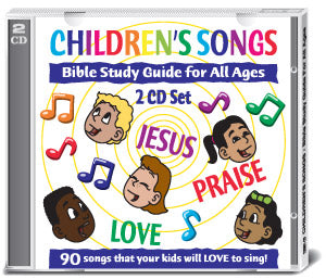 Children's Songs Acapella:  Bible Study Guides for All Ages