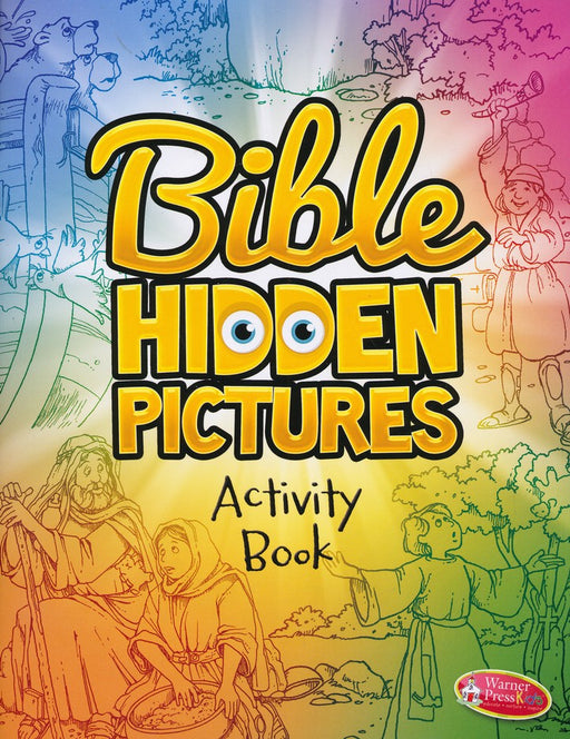 Bible Hidden Picture Activity Book
