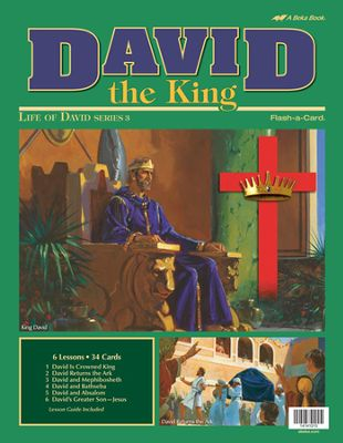 David the King (David 3) - Abeka Flash-A-Card
