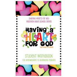 Having A Heart for God - Student Workbook, Intermediate/Advanced Readers