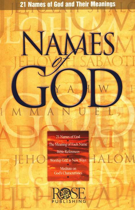 Names of God Pamphlet