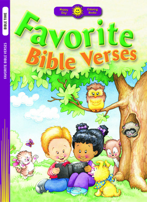 Favorite Bible Verses Coloring Book
