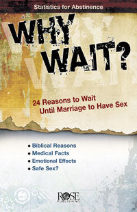 Why Wait? Pamphlet