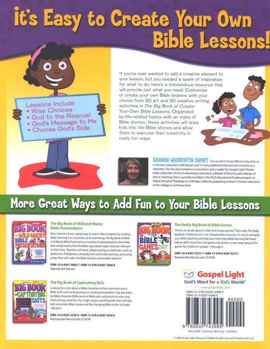 Big Book of Create Your Own Bible Lessons