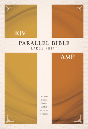 KJV/Amplified Parallel Bible -HB (Large Print)