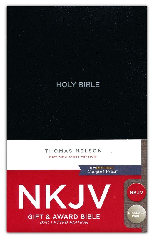 NKJV Gift & Award Bible - Black