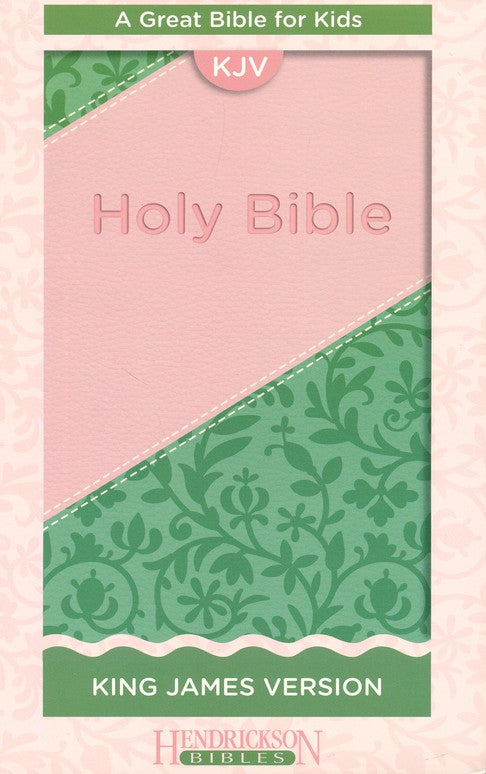 KJV Kid's Bible, Pink Flexisoft