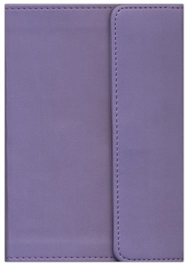 KJV Large Print Compact Bible with Magnetic Flap, Lilac