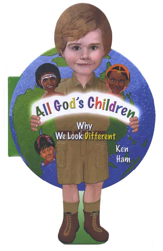 All God's Children - Board Book