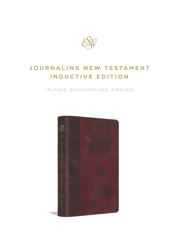 ESV Journaling New Testament Inductive Edition TruTone