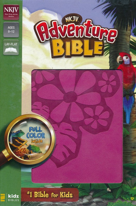 NKJV Adventure Bible - Raspberry DuoTone