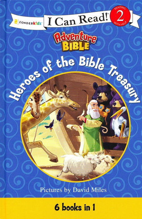Heroes of the Bible Treasury: I Can Read! Level 2