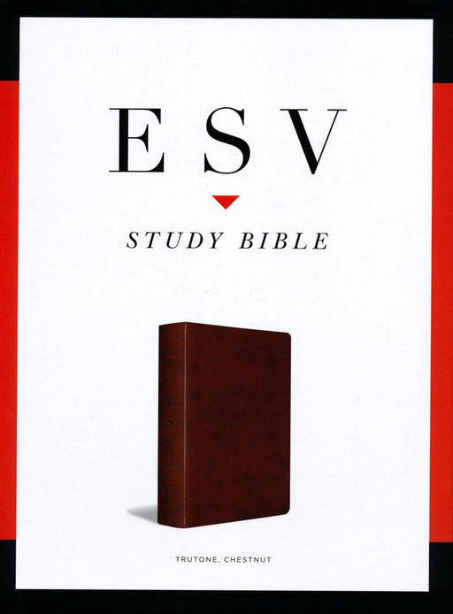 ESV Study Bible - Chestnut TruTone