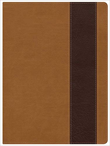 Holman NKJV Full-Color Study Bible Suede/Chocolate LeatherTouch Indexed
