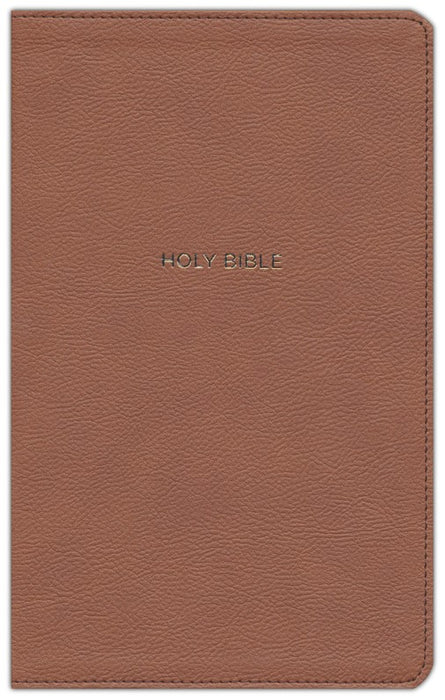NKJV Thinline Reference Bible Tan Leathersoft