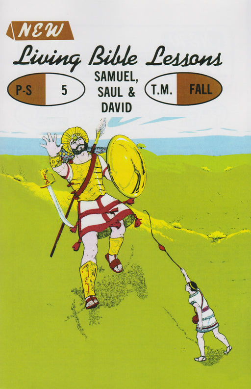 PRESCHOOL 5-1 MAN - Samuel - Saul - David