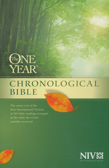 The One Year Chronological Bible - NIV - Paperback