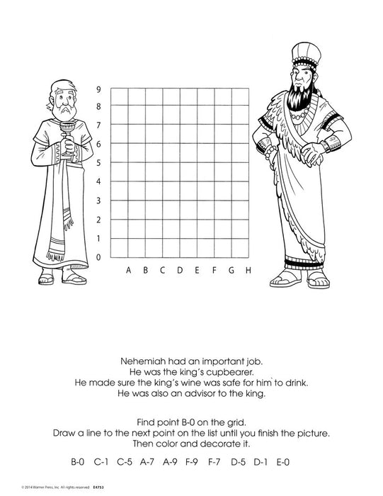 Nehemiah Builds a Wall Activity Book