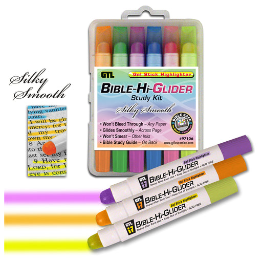 Bible-Hi-Glider Gel Stick Study Kit