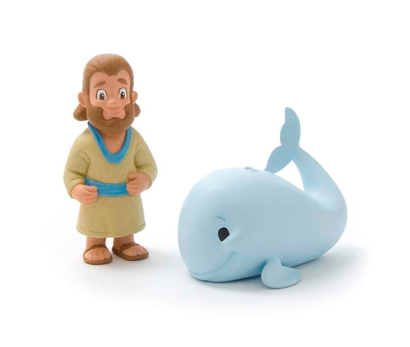 Jonah & the Big Fish Figurine Set - Tales of Glory