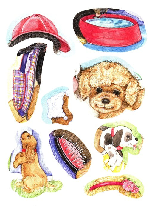 God Made Puppies Story & Activity Book (Faith That Sticks)
